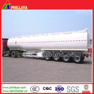 Carbon Steel Water/ Oil / Petrol Transport Fuel Tanker Semi-Trailer pictures & photos