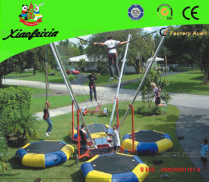Trailer Inflatable Bungee Jump Trampoline (LG011) pictures & photos