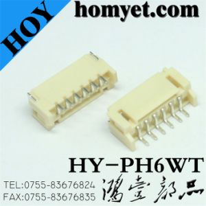 SMD Type 6pin FPC Connector (HY-pH6WT) pictures & photos
