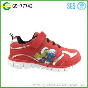Children Sport Fancy Cartoon Shoes Kids Beautiful Boy Shoes pictures & photos
