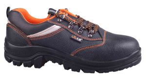 Black Colour Men Shoes pictures & photos