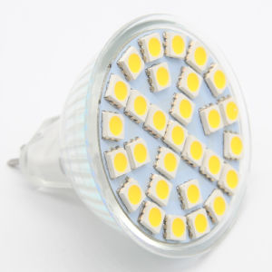 5050 2W 24PCS MR16 AC85-265V/12V LED Spotlight pictures & photos