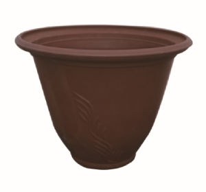 Recycled Plastic Flower Pot (10EDA35)