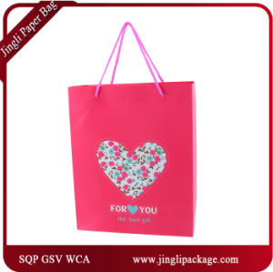 2017 Pink Valentine Gift Bags Promotional Bags pictures & photos