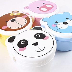 Random Color Bento Box Decoration Food Storage Kids Bento Box 2 Layer Bento Box Microwave Food Container Eco Friendly pictures & photos