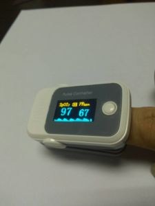 Color OLED Finger Tip Pulse Oximeter with Alarm Pulse- SpO2 Monitor pictures & photos