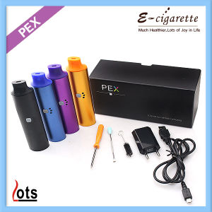 2014 Newest Dry Herb Vaporizer Electronic Cigarette Pex Vaporizer with 18650 2200mAh Battery