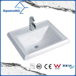 Bathroom Basin Above Counter Ceramic Sink (ACB023) pictures & photos