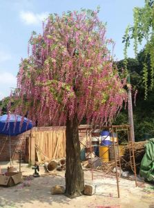 Artificial Plants and Flowers of Westeria Tree Gu-SL425127 pictures & photos