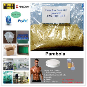 Pale Yellow Tren E Liquild & Powder Trenbolone Enanthate Parabolan pictures & photos
