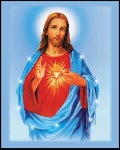 Wholesale 2017 Latest LED light Jesus Oil Paintings on Canvas pictures & photos