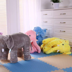 Soft Elephant Baby Sleep Pillow Baby Bed Car Seat Cushion pictures & photos
