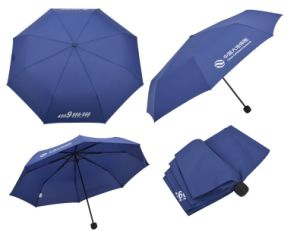 21 Inch Promotional 3 Folding Umbrella (BR-FU-62) pictures & photos