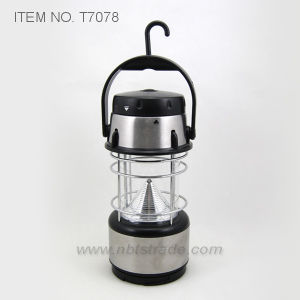 12 LED Steel Camping Light (T7078) pictures & photos