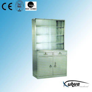 Stainless Steel Hospital Medical Appliance Cupboard (U-11) pictures & photos