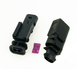 Auto AMP Housing Audi Oxygen Sensor Connector (1-1703498-1) pictures & photos