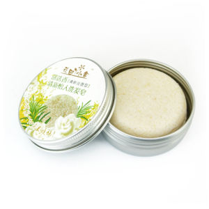 Recyclable Body Hair Remover Shampoo Soap