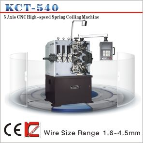 4mm Kct-540 High-Speed CNC Compression Spring Machine & Spiral Spring Coiler pictures & photos