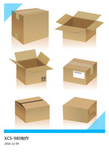 Xcs-980 Flat Corrugated Box Folder Gluing Machine pictures & photos
