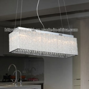 Modern Rectangular Crystal Chandelier Glass Pendant Lighting with Ce pictures & photos