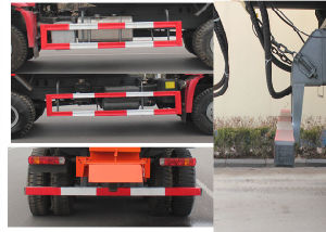 Mobile Boiler Truck 4X2, Red Color pictures & photos