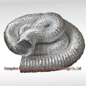 Aluminium Fiberglass Flexible Duct. pictures & photos