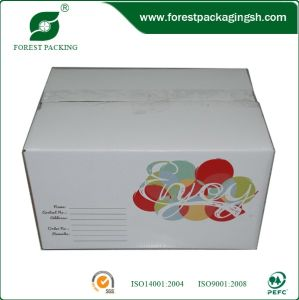 White Cardboard Paper Carton for Mailing pictures & photos