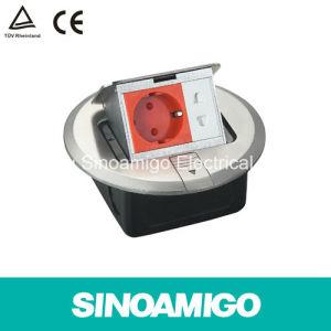 CE TUV Flex Outlet Box Floor Socket pictures & photos