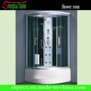 Popular Glass Chrome Finished Sauna Steam Shower Bathroom (TL-8850) pictures & photos