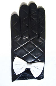 Lady Fashion Leather Gloves (JYG-21002) pictures & photos