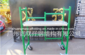 Working Platform Mobile Ladder Frame Scaffolding System pictures & photos