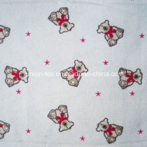 100% Cotton Flannel with Print for Kids Wear (Art#UT609232-1)
