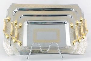 Stainless Steel Food Tray pictures & photos