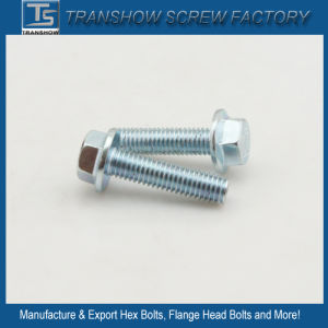 C1035 Steel Galvanized Hex Flange Screw Grade 8.8 pictures & photos