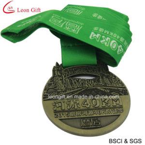 Custom Metal Sports Marathon Medal (LM1051) pictures & photos