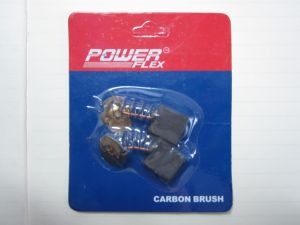 Blister Packing Carbon Brush for Power Tools/Household Carbon Brush with Small Spark pictures & photos