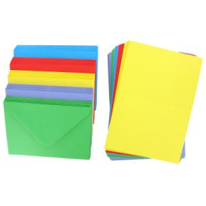 Blank Greeting Card, C6 Bright Colors pictures & photos