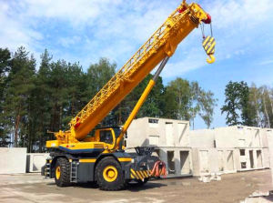 Rt60 Rough-Terrain-Crane Maneuverable and Robust Drive pictures & photos