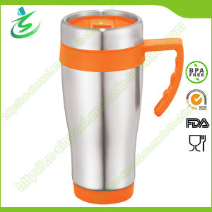 14oz Promotional Coffee Tumbler with Handle pictures & photos