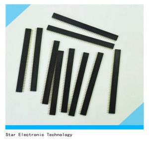 10 PCS 1X40 Pin 2.54mm Pitch Straight Single Row PCB Female Pin Header Connector pictures & photos