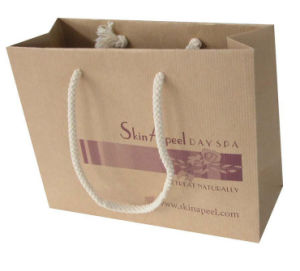 Recyclable Custom Paper Gift Bags for Garments (FLP-8964) pictures & photos