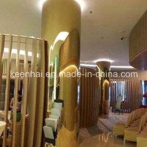 Decorative PVD Color Coated Stainless Steel Column Cladding pictures & photos