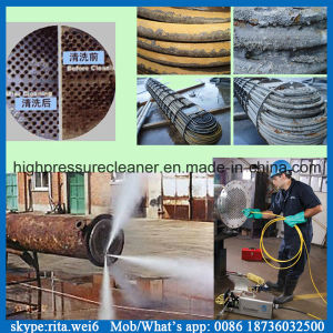 1000bar Movable Industrial High Pressure Water Pipe Cleaner pictures & photos