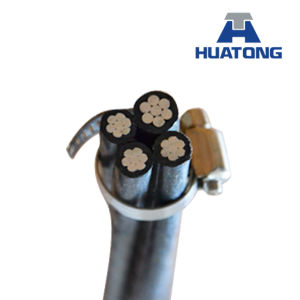 0.6/1 Kv Aluminium Twisted ABC Cable, Quadruplex Service Drop Cable pictures & photos