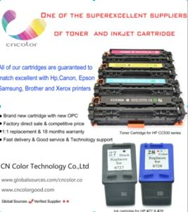 Remanufactured Ink Cartridge for HP 28 C8728A Color and HP 27 C8727A Black Printing Cartridge pictures & photos