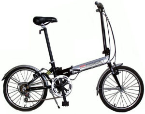 Lightweight 20inch Folding Bike with Shimano 6speed Derailleur pictures & photos