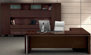 2016 Factory Walnut Wooden Executive Table Office Furniture (HF-LTA128) pictures & photos