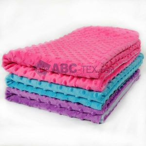 Wholesales Super Soft Minky DOT Baby Blanket