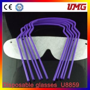Disposable Dental Eye Wearing, Safety Glasses U8859 pictures & photos