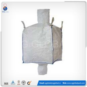 White PP Woven Jumbo Bag for 1 Ton Chemicals pictures & photos